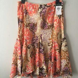Ralph Lauren skirt Fun fall/anytime Print